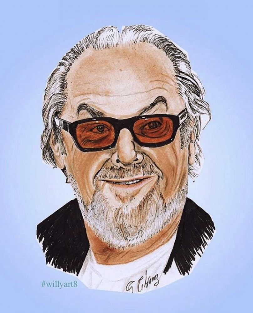 Jack Nicholson by Willy8art